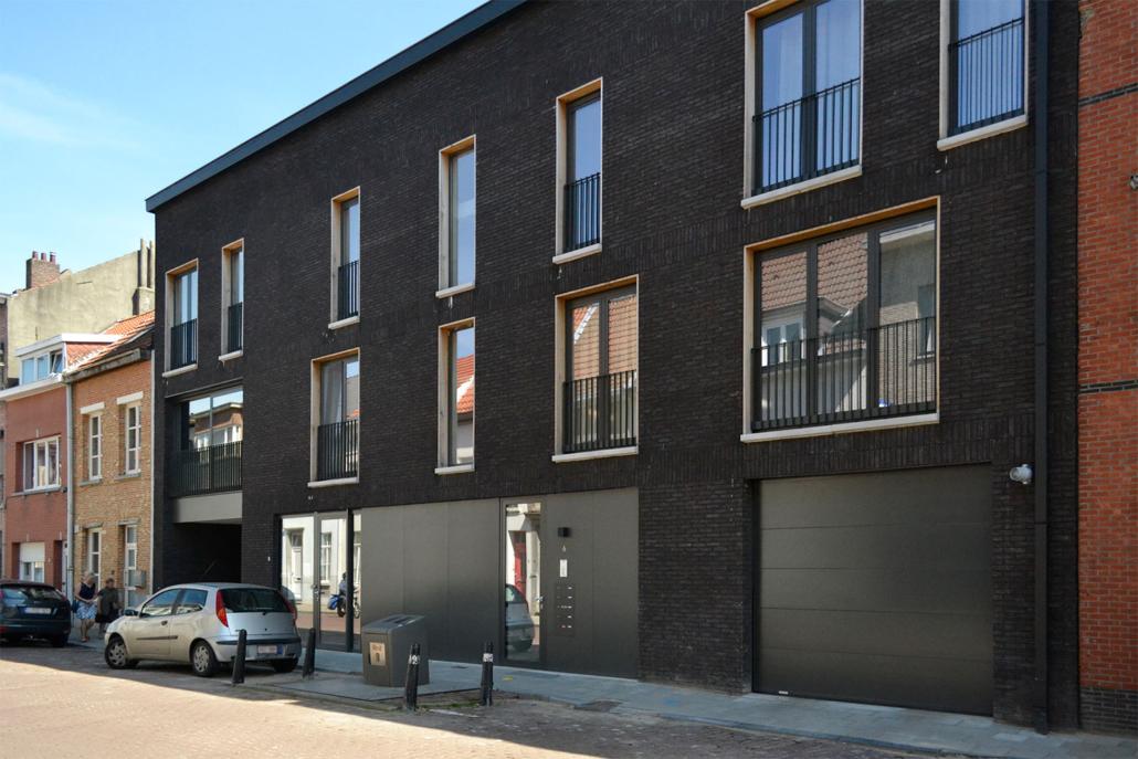 Appartementen Huibrechtstraat